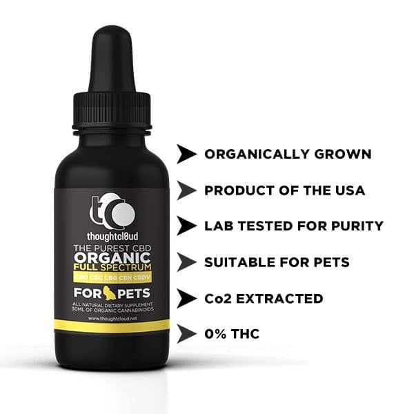 Full Spectrum CBD **FOR PETS**(100mg) in cold pressed hemp
