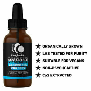 60ml 3000MG Full Spectrum CBD oil in cold pressed hemp