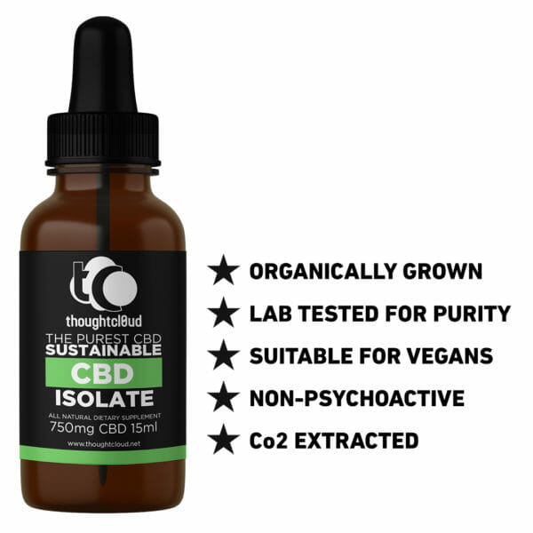 15ml 750mg Isolate CBD Oil