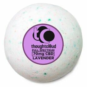 Lavender Scent CBD Bath Bomb