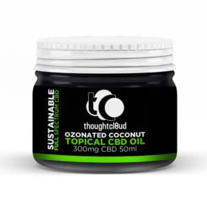 ThoughtCloud Tropical Ozonated Coconut CBD Cream