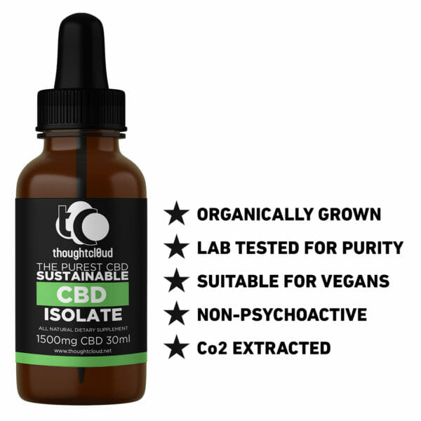 30ml 1500mg Isolate CBD Oil