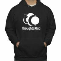 ThoughtCloud CBD Hoodie Black