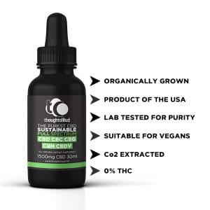 Full Spectrum CBD (1500mg) in coconut oil