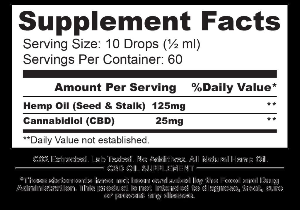 Full Spectrum CBD (1500mg) in cold pressed hemp *Volume Discount