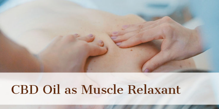 CBD Oil for pain management,CBD oil as Muscle relaxant