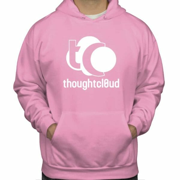 ThoughtCloud CBD Oil Baby Pink Front