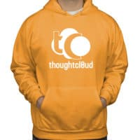 ThoughtCloud CBD Oil Bright Orange Front