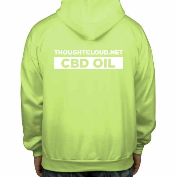 ThoughtCloud CBD Oil Lemon Lime Back