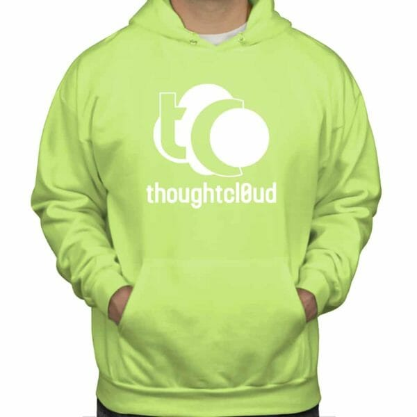ThoughtCloud CBD Oil Lemon Lime Front