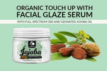 Best Face Serum | Full Spectrum CBD Facial Serum in Ozonated Jojoba Oil