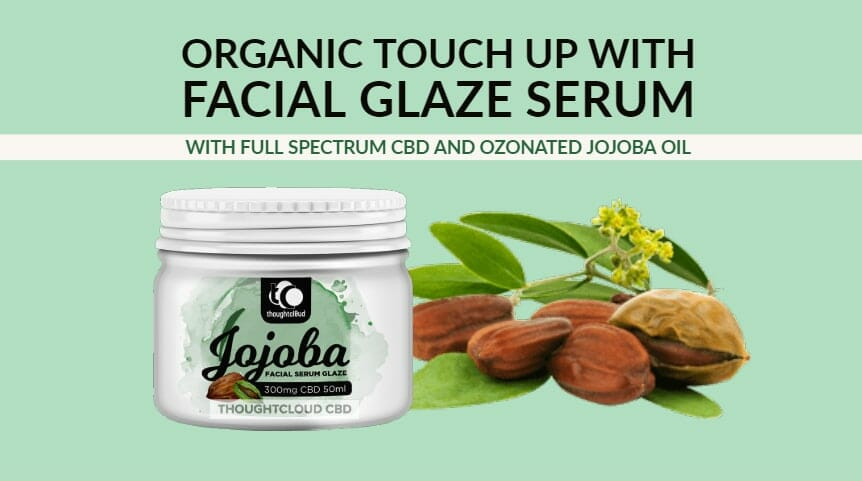 Best Face Serum | Full Spectrum CBD Facial Serum in Ozonated Jojoba Oil