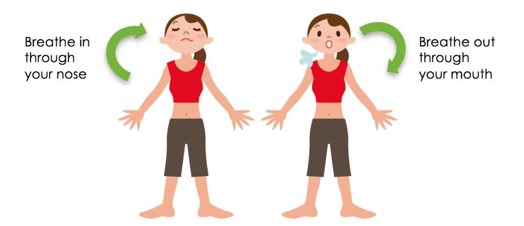 Easy Breathing Exercises
