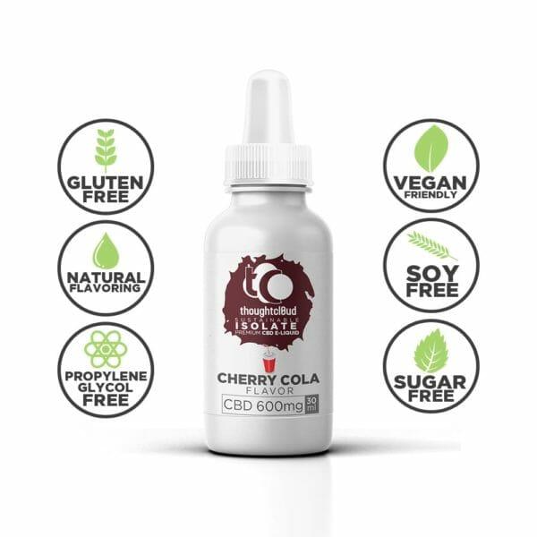 Flavour Isolate CBD Vape Oil,CBD Vape Juice Oil,Flavour Isolate CBD Vape Juice Oil,Cherry Cola 600mg Flavour Isolate CBD Vape Juice Oil