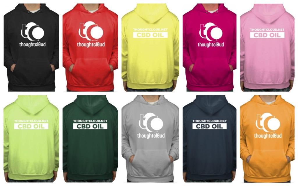 CBD Buy Hooded Sweatshirt online