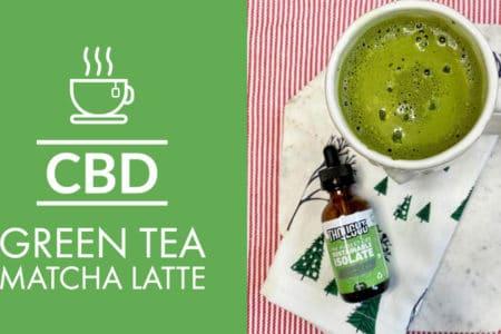 CBD Green Tea Matcha Latte Organic And Vegan
