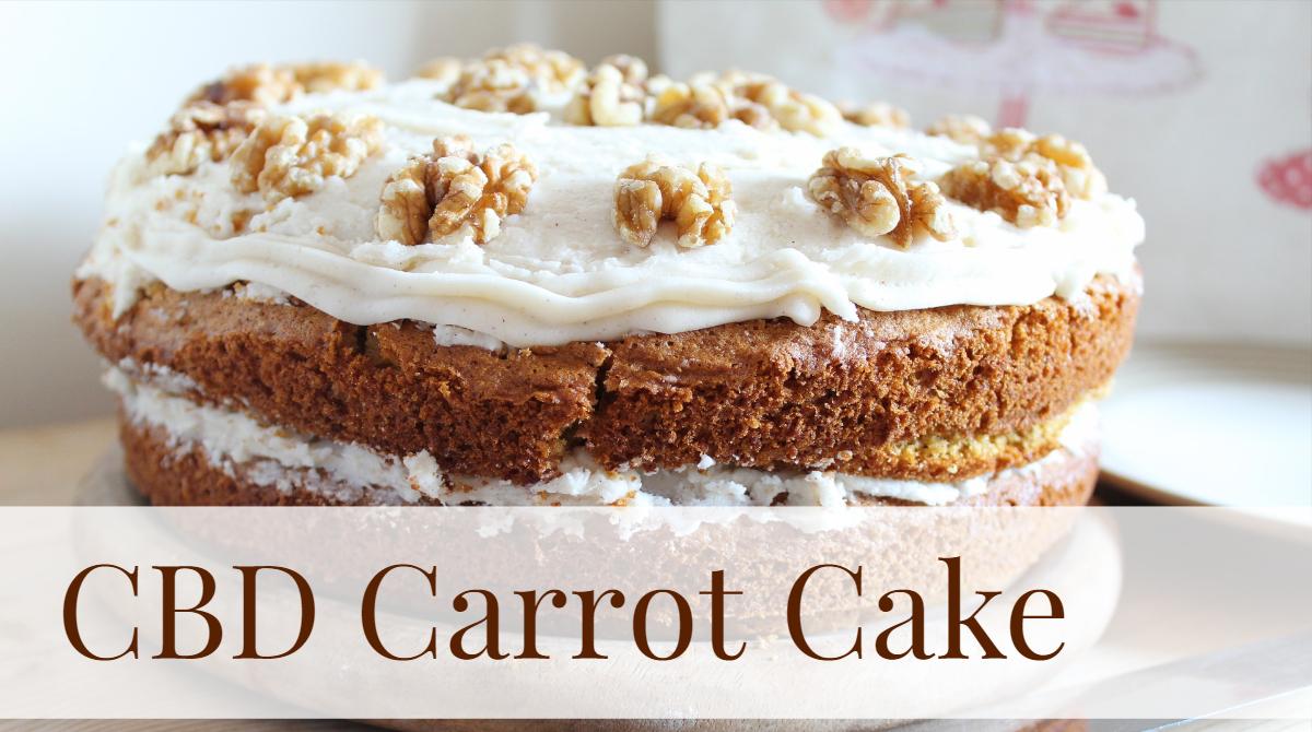 Make CBD Carrot Cake For Your Loved Ones