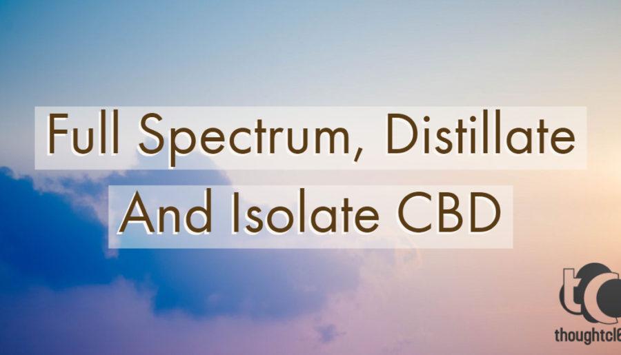 Full Spectrum Distillate Isolate CBD