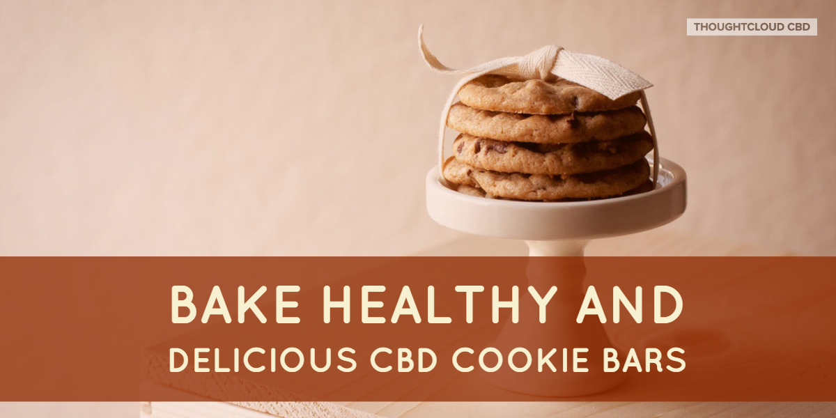 Bake Healthy and Delicious CBD Cookie Bars In Your Kitchen Today