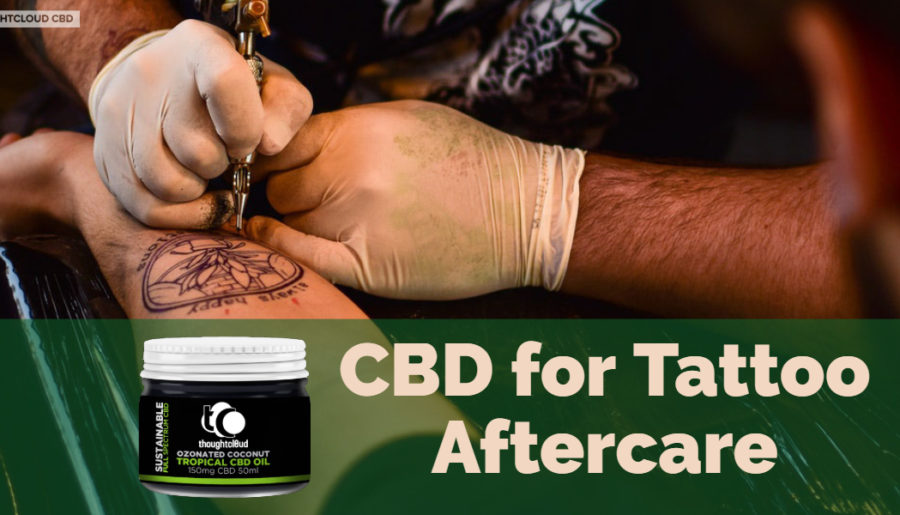 CBD for Tattoo Aftercare