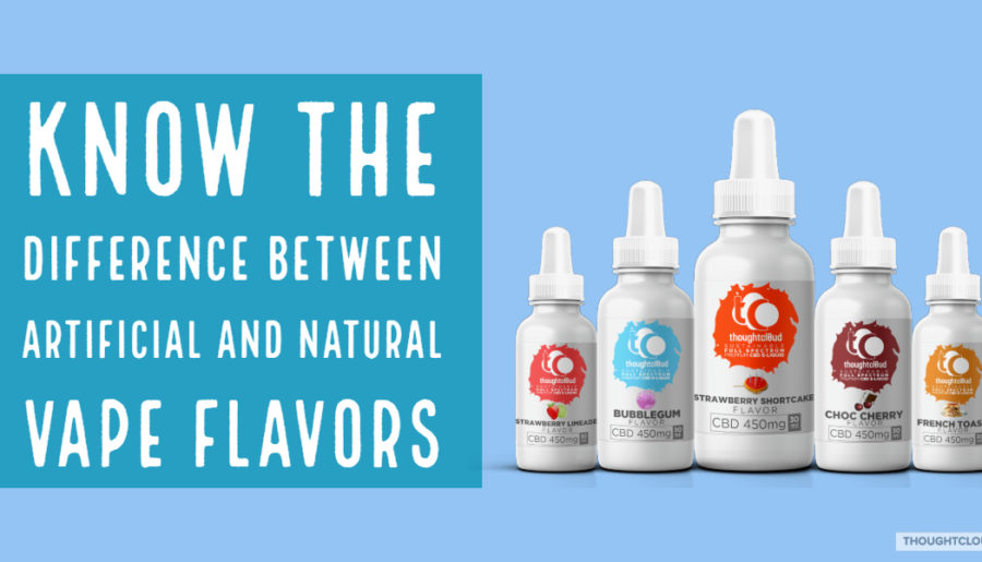 Artificial And Natural Vape Flavors