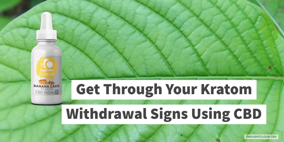 CBD For Kratom Withdrawal   CBD Assists In Treating Kratom Withdrawal