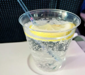 CBD Infused Lemonade Spritzers, drink