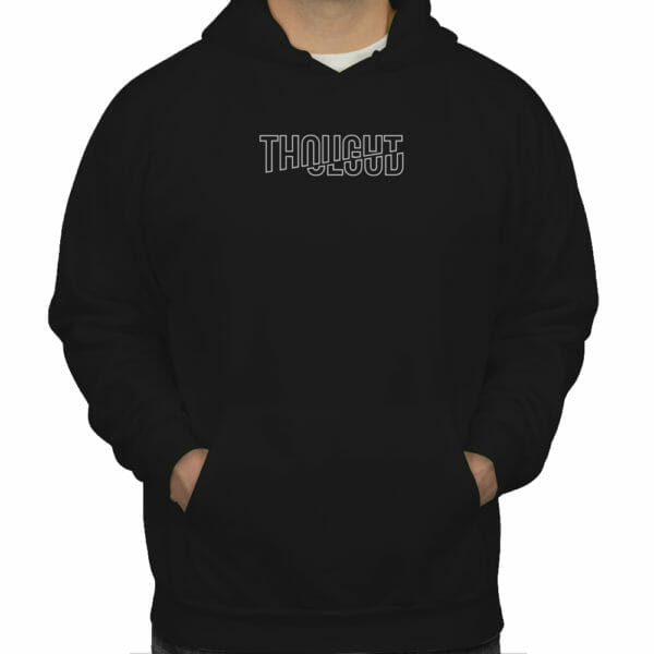 Thoughtcloud Embroidered Hoodies