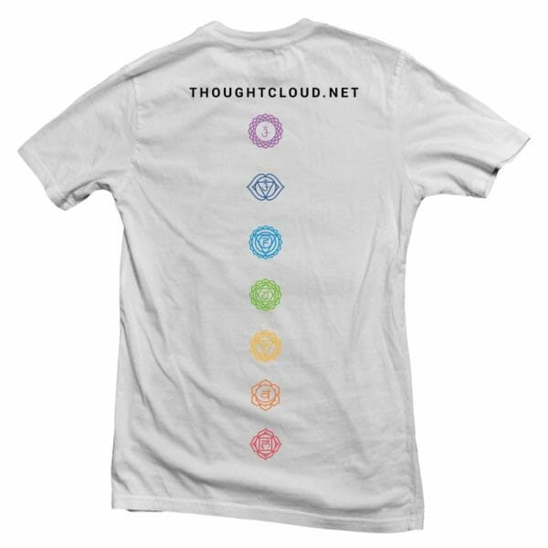 TC Chakrah Tees White Back