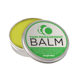CBD Pain Balms Treat Contusion