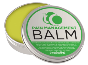 CBD Pain Management Balm For Frozen Shoulder