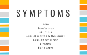 symptoms of osteoarthritis