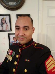 Agenor Rodriguez,CBD Veterans Scholarship winner 2019