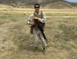 Eric Leon Estrada,CBD Veterans Scholarship winner 2019