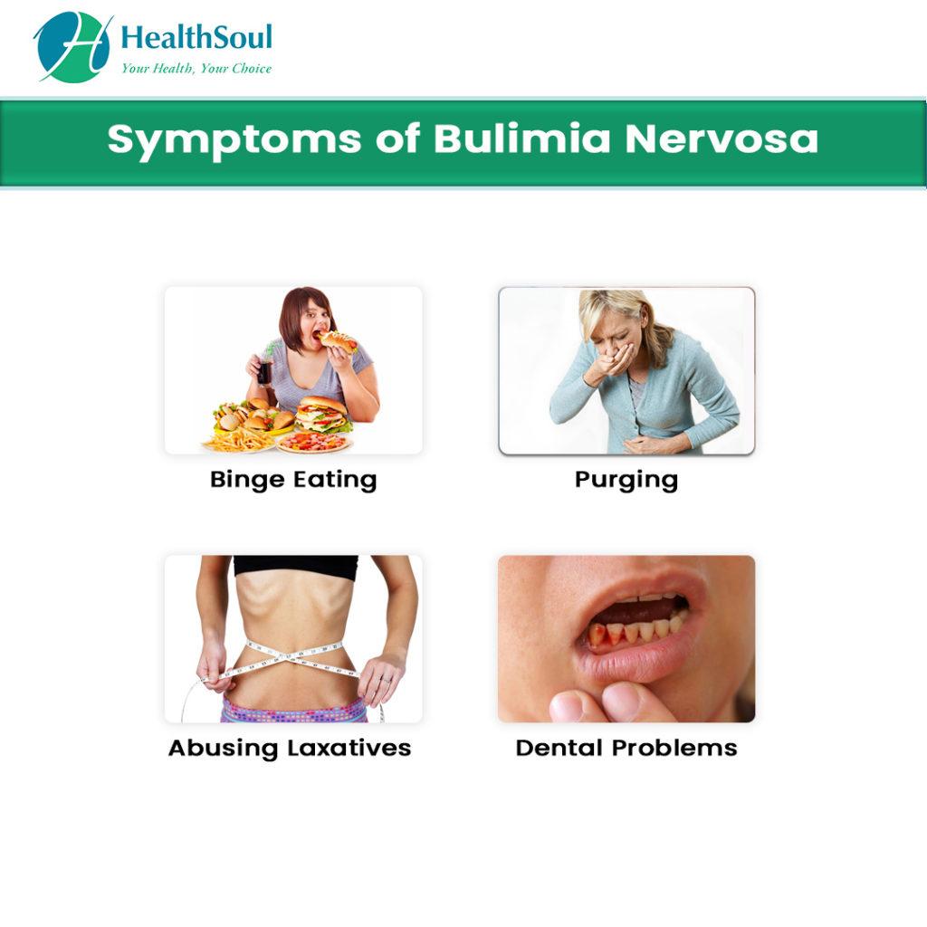 CBD Oil for bulimia, Symptoms of bulimia