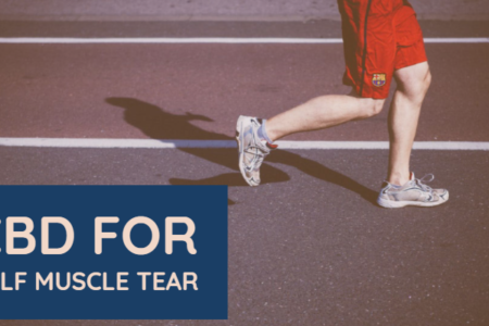 How To Heal A Calf Muscle Tear Naturally Using CBD?
