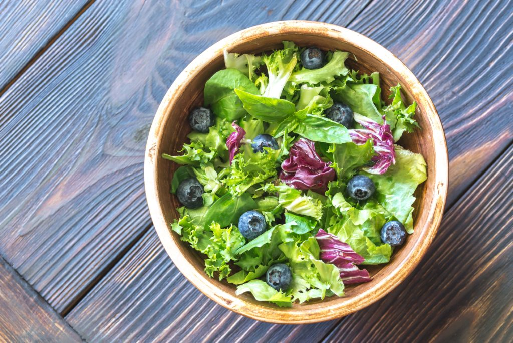 CBD oil salad dressing
