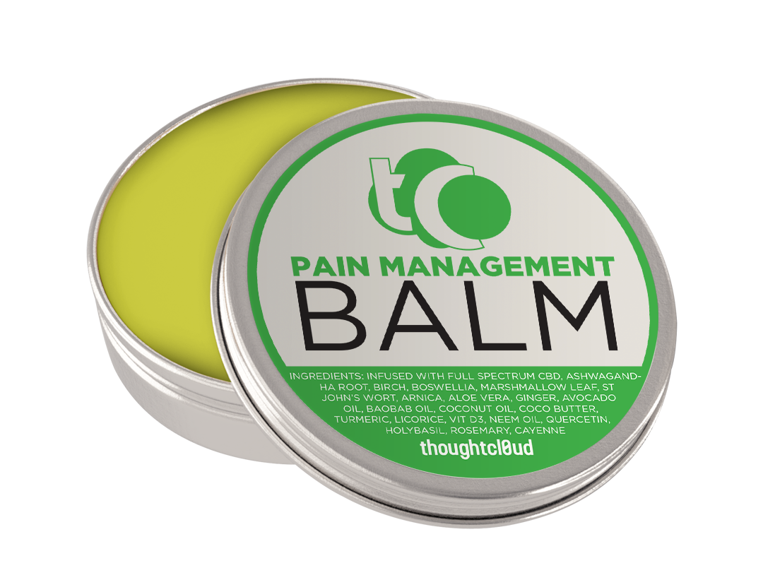 CBD pain management balm for pmr
