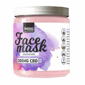 Full Spectrum CBD Facial Mask - Sensitive Skin