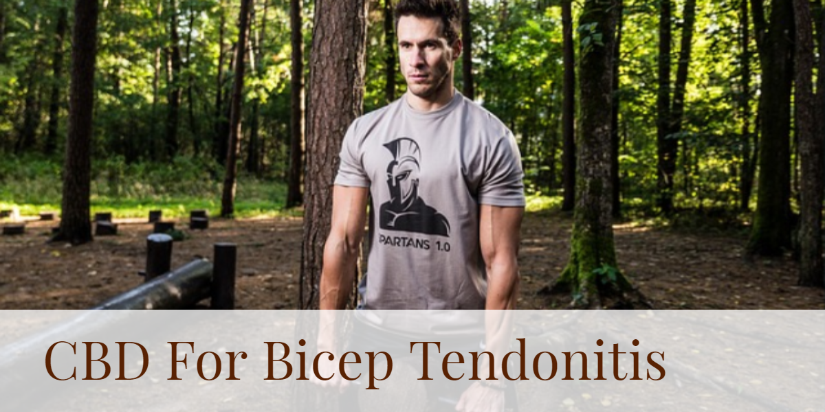 How Can You Use CBD To Relieve Bicep Tendonitis?
