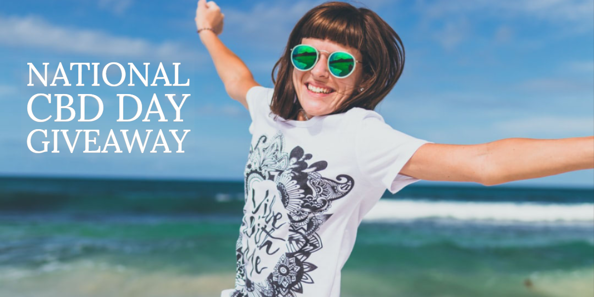 Enter Our National CBD Day Giveaway And Win Free CBD Vials ?
