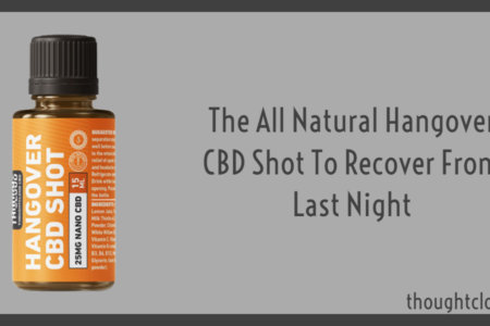 Try The All Natural Hangover CBD Shot