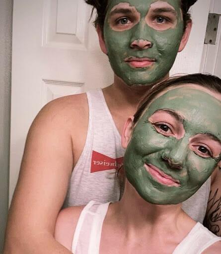 cbd cbc skin care face mask