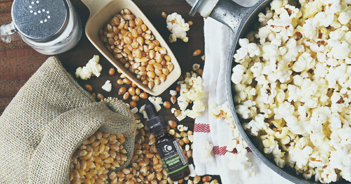 CBD Popcorn is the Best Snack for Scary Movie Night