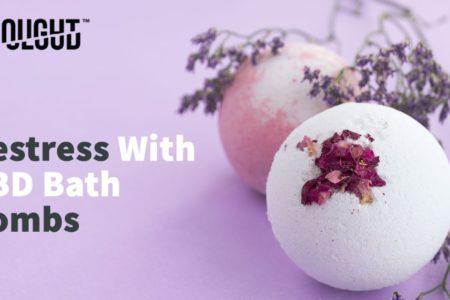 Decompress and Destress With CBD Bath Bombs
