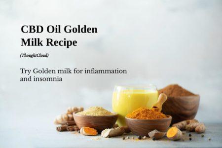 CBD Oil Golden Milk Recipe